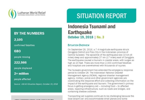 Indonesia Earthquake and Tsunami