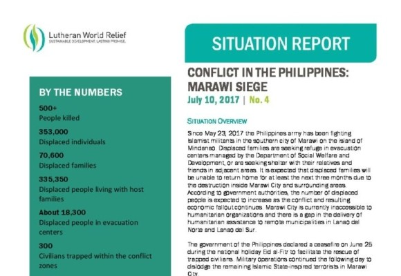 Conflict in the Philippines: Marawi Siege 4