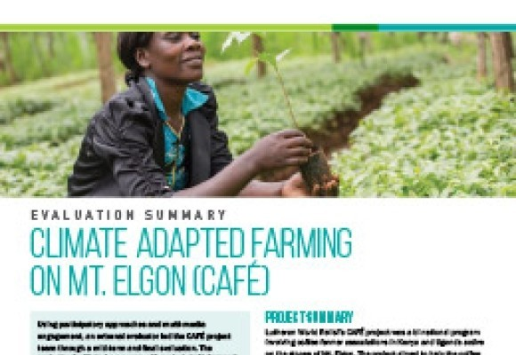 Climate Adapted Farming on Mt. Elgon (CAFÉ) Project