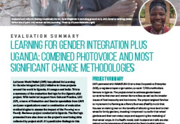 Learning for Gender Integration Project in Uganda