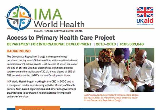 Access to Primary Health Care Project
