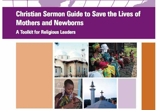 Christian Sermon Guide to Save the Lives of Mothers and Newborns