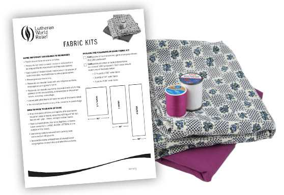 Fabric Kit Assembly Instructions