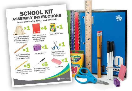 School Kit Assembly Signs